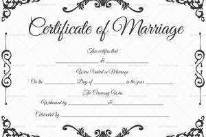 Marriage license is the most important thing before your wedding