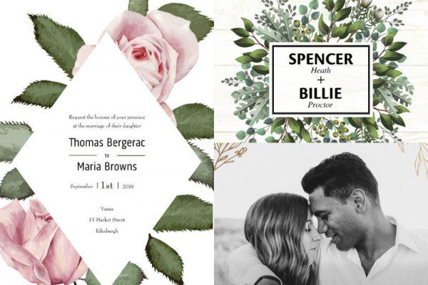 Top wedding invitation ideas for 2020