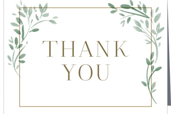 Sending thank you cards is still the best way to express your true gratitude