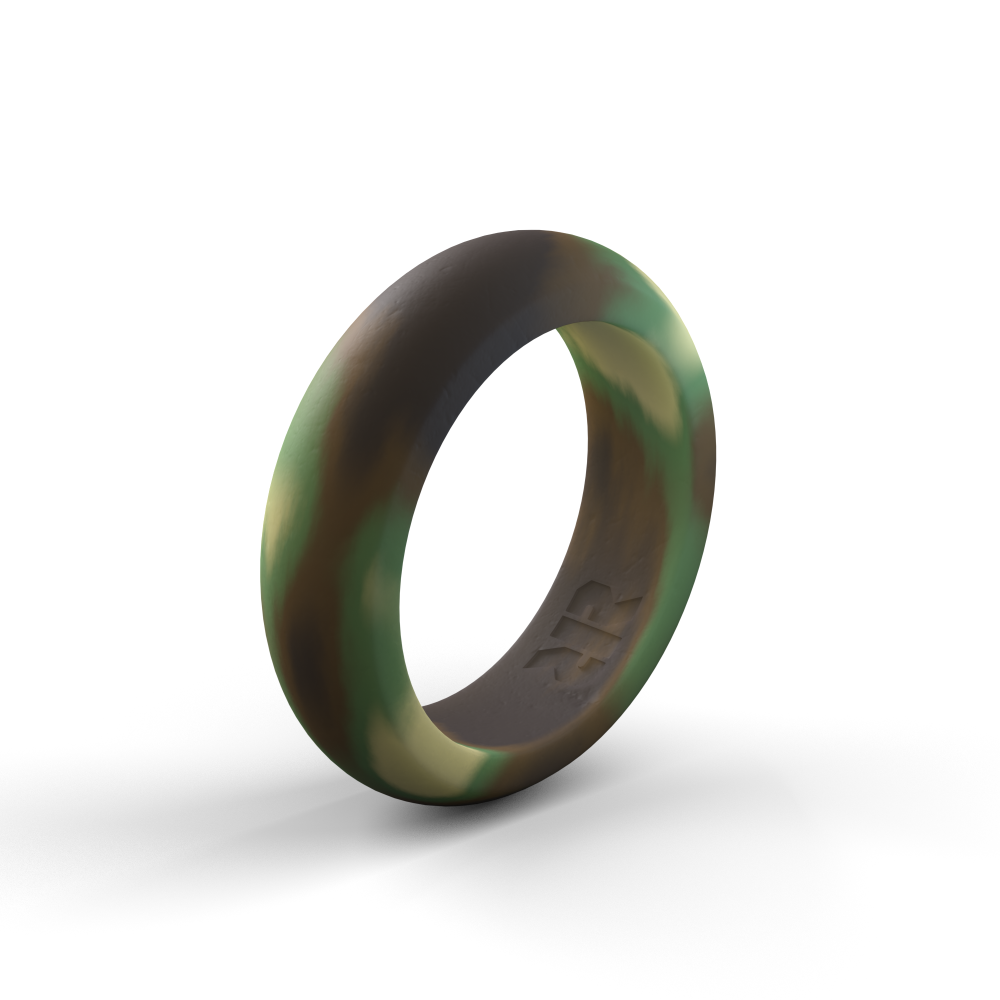 Camo Silicone Rings – perfect for everyday wear