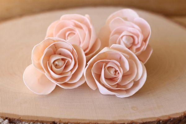 Order wood flowers wholesale!