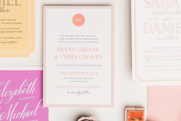 Beautiful wedding invitation online