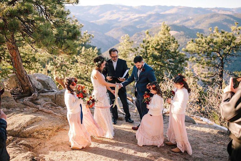 Planning an elopement wedding with kids